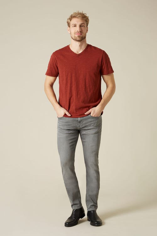 7 For All Mankind - Ronnie Luxe Performance Light Grey