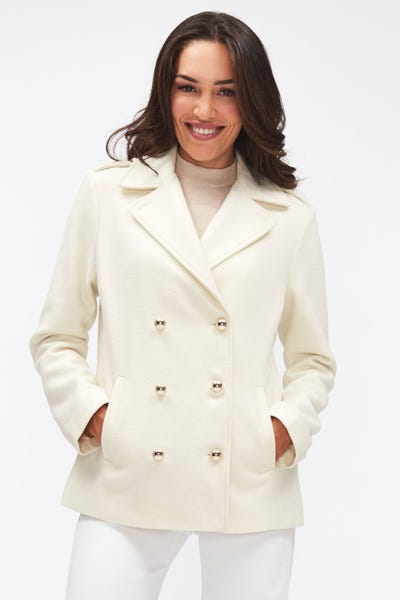 PEACOAT WOOL CLOUD