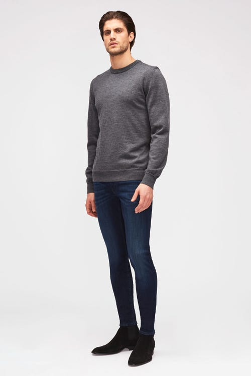 7 For All Mankind - Ronnie Tapered Luxe Performance Plus Deep Blue
