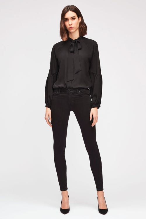 7 For All Mankind - The Skinny Crop Slim Illusion Luxe Gravity