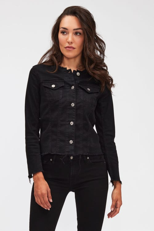 DENIM JACKET BAIR RINSED BLACK