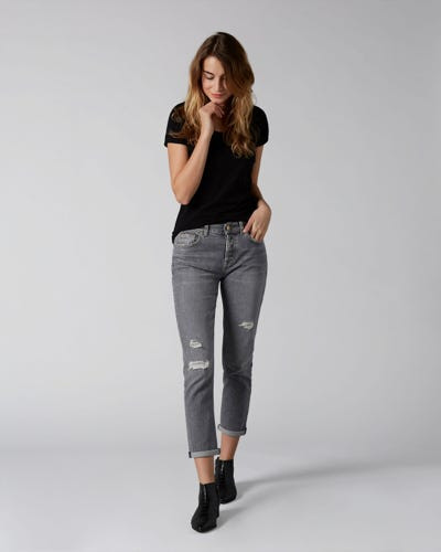 7 For All Mankind - Asher Vintage Highland Distressed