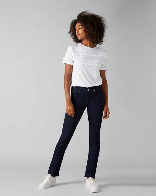 7 For All Mankind - Mid Rise Roxanne Slim Illusion Luxe Vista