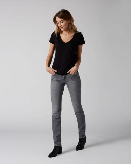 7 For All Mankind - Mid Rise Roxanne Vintage Highland