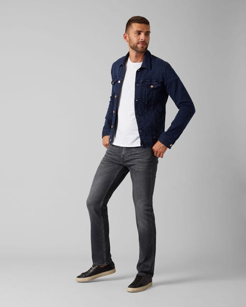 7 For All Mankind - Standard Luxe Performance Grey