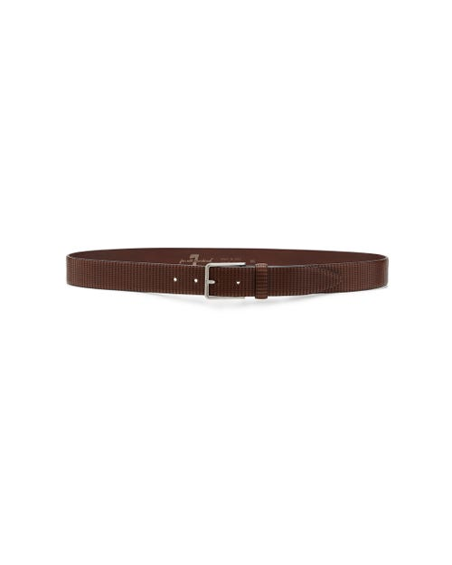 LASERED BELT BROWN