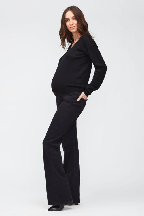 BOOTCUT MATERNITY SLIM ILLUSION LUXE GRAVITY