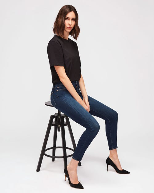 7 For All Mankind - Aubrey Slim Illusion Luxe Starlight