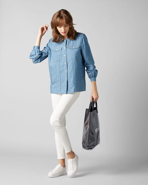7 for all Mankind - SHIRT L/S BAYSIDE