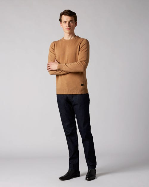 7 For All Mankind - Ronnie Cashmere Denim Rinse Blue