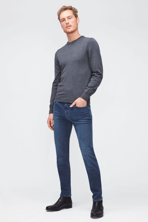 RONNIE STRETCH TEK COLORED  NAVY