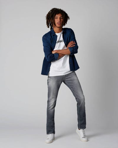 7 For All Mankind - Ronnie Blunch Light Grey