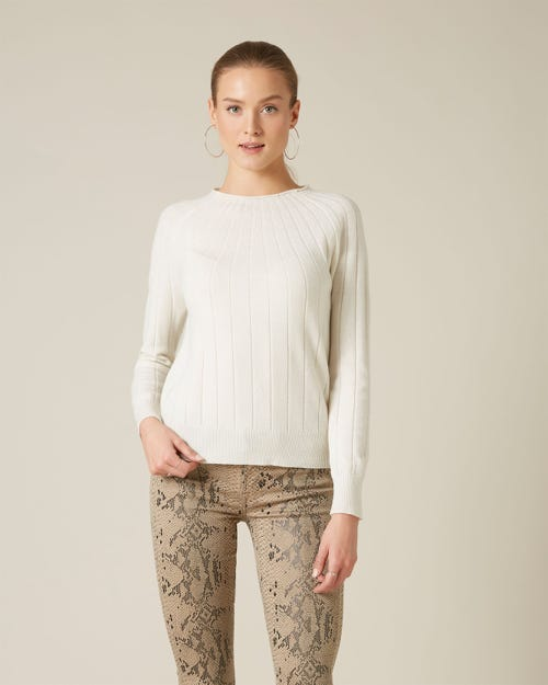 CRATER SWEATER CASHMERE CREAM