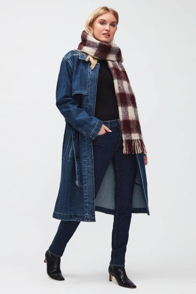 TRENCH COAT EVER BLUE