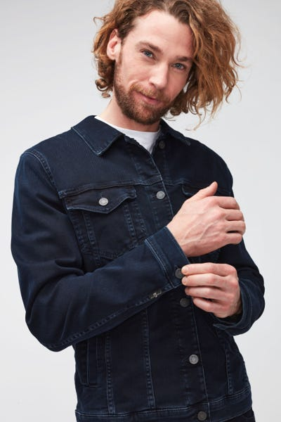 PERFECT JACKET LUXE PERFORMANCE ECO BLUE BLACK