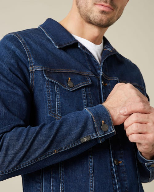 PERFECT JACKET LUXE PERFORMANCE DARK BLUE