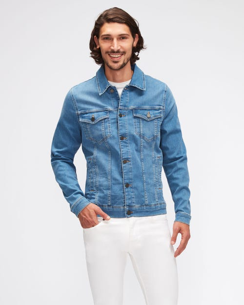 PERFECT JACKET LUXE PERFORMANCE LIGHT BLUE