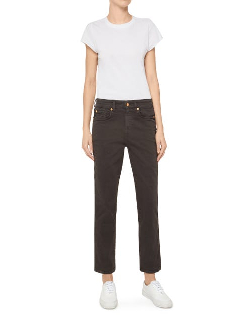 ERIN COLORED COMFORT STRETCH BLACK