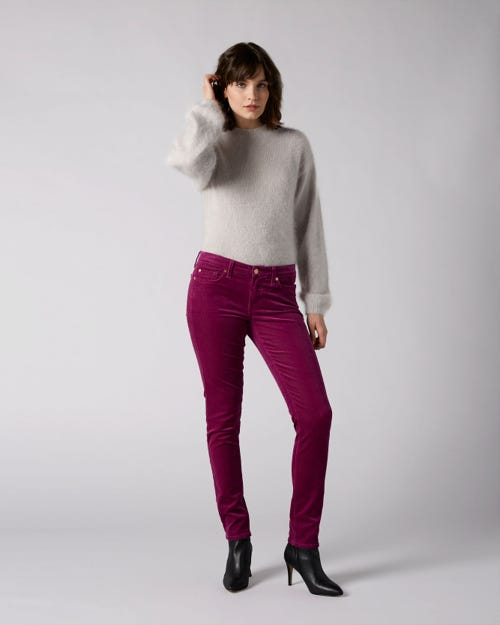7 For All Mankind - Pyper Corduroy Wild Orchid