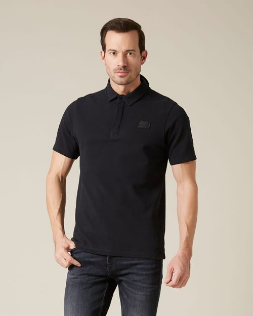 POLO PIQUET BLACK