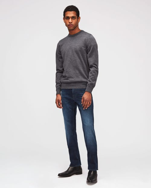 7 For All Mankind - Standard Luxe Performance Dark Blue