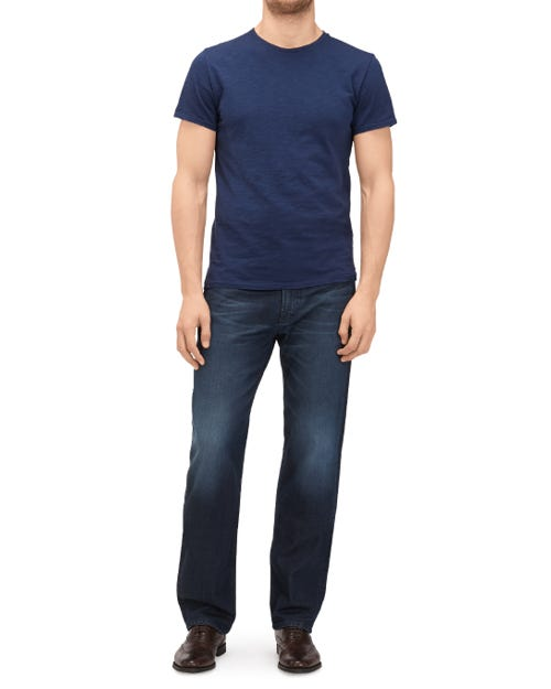 STANDARD CASHMERE DENIM DARK BLUE