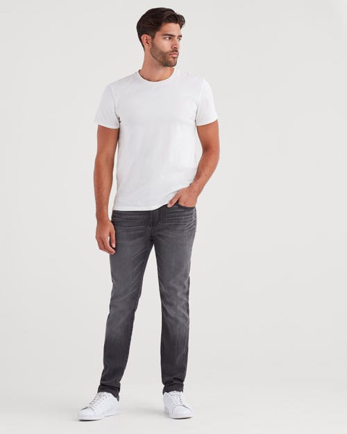 SLIMMY AIRWEFT DENIM SABOTAGE GREY
