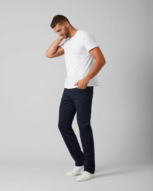 7 For All Mankind - Slimmy Luxe Performance Colors Midnight Blue