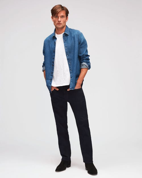7 For All Mankind - Slimmy Luxe Performance Rinse Blue