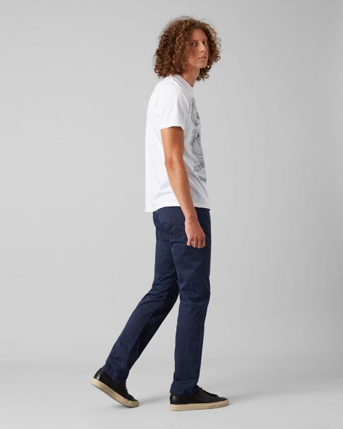 7 For All Mankind - Slimmy Light Weight Navy Blue