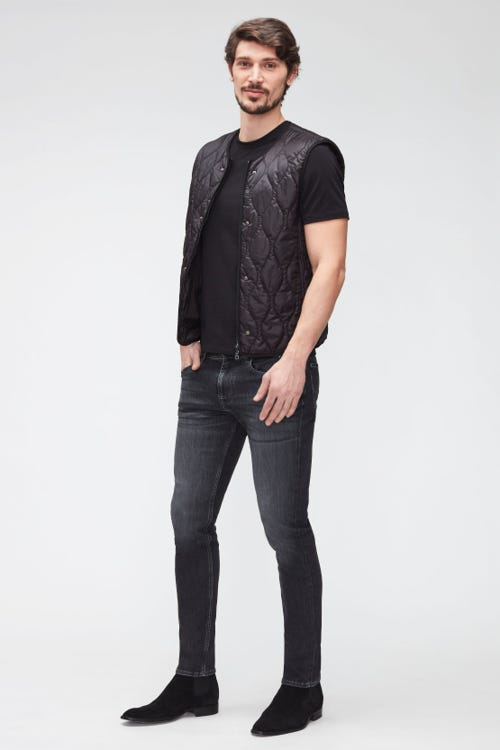 SLIMMY TAPERED LUXE PERFORMANCE ECO GREY