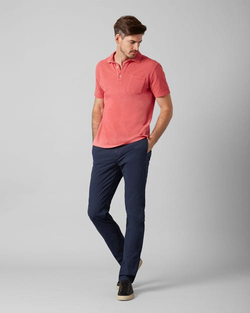 7 For All Mankind - Slimmy Chino Ultra Light Weight Colors Navy Blue