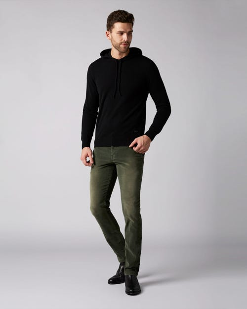 7 For All Mankind - Extra Slim Chino Washed Velvet Hunter
