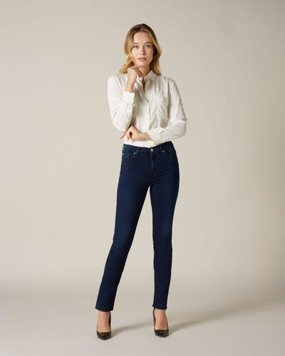 7 For All Mankind - Rozie Slim Illusion Luxe Rich Indigo
