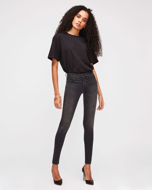 HIGH WAIST SKINNY SLIM ILLUSION LUXE MISTERY