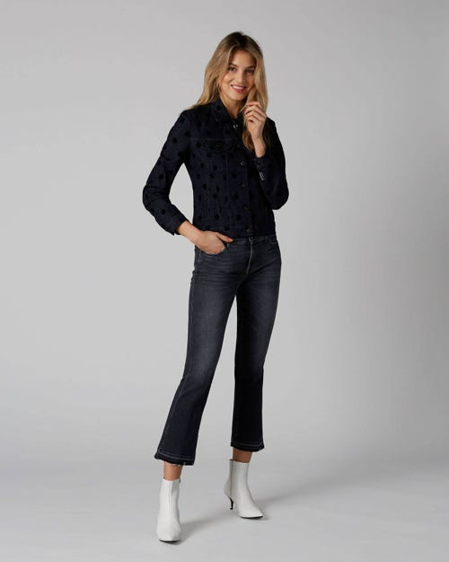 7 For All Mankind - Cropped Boot Unrolled Slim Illusion Honest