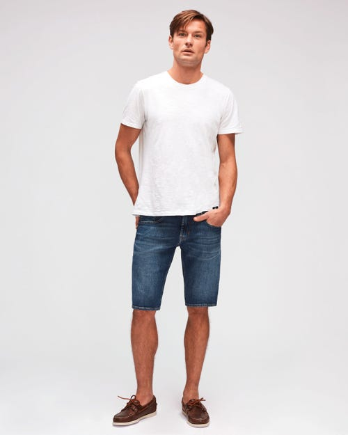 REGULAR SHORTS HEMET MID BLUE
