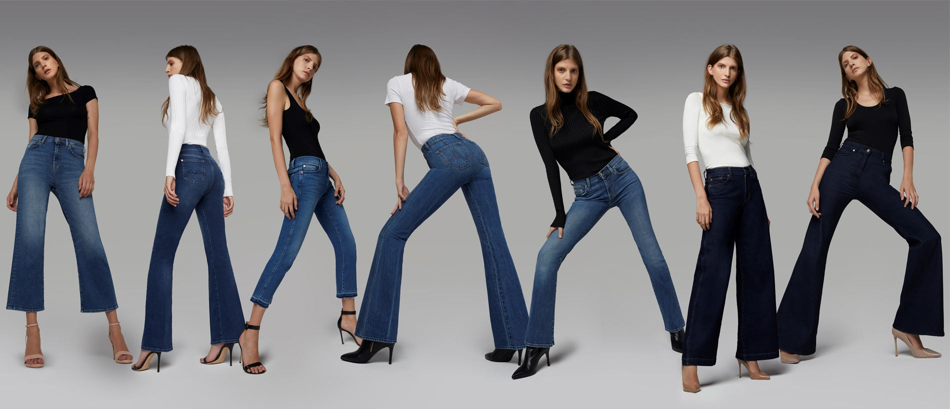 7 For all Mankind Jeans, Denim