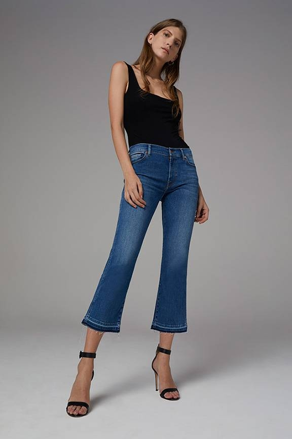 7 Wide legs - Cropped Boot